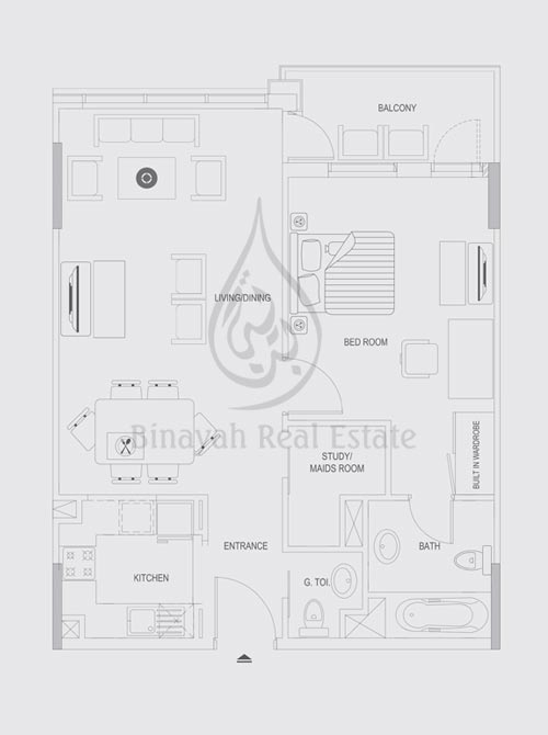 Axis Silver Apartments Floor Plans