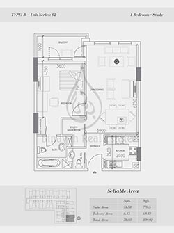 Silicon Oasis Apartments Floor Plans